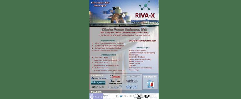 Ctechnano sponsors Iberian Vacuum Conference, RIVA-X