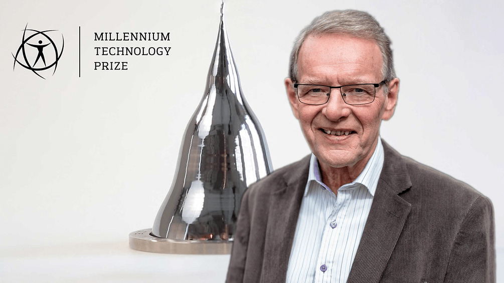 TUOMO SUNTOLA, ALD CREATOR, WINS THE NOBEL OF TECHNOLOGY 2018