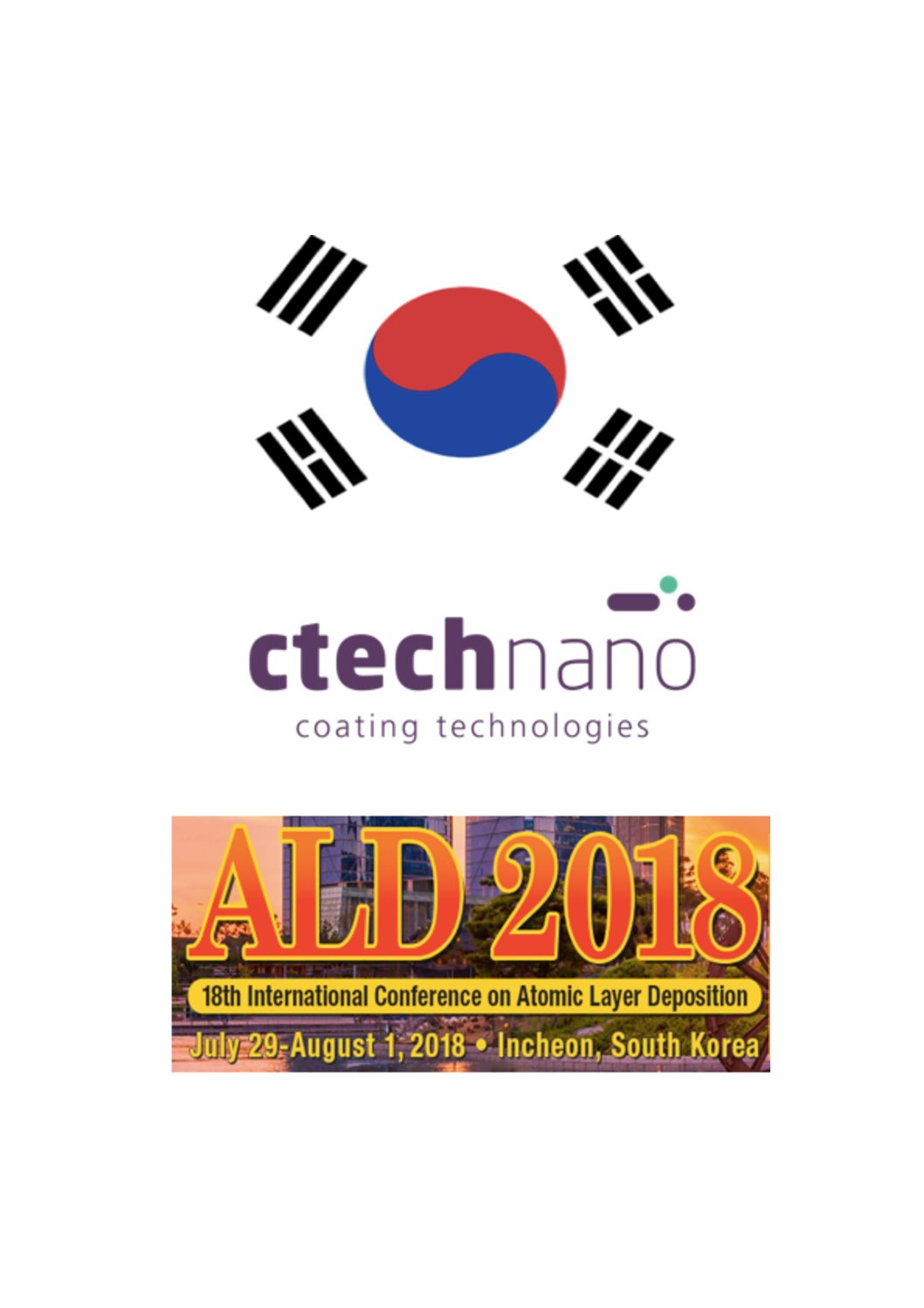 VISIT US IN KOREA ALD 2018 !